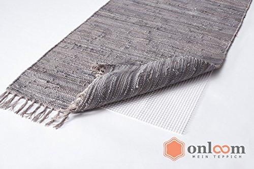 onloom antirutschmatte wei er teppich stopp rutschhemmende teppichunterlage in verschiedenen. Black Bedroom Furniture Sets. Home Design Ideas