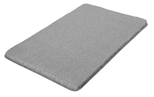 kleine wolke 5405189225 badteppich relax 70 x 120 cm grau ayavno. Black Bedroom Furniture Sets. Home Design Ideas
